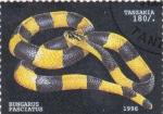 Stamps Tanzania -  serpiente