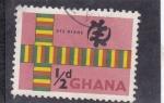 Sellos de Africa - Ghana -  emblema
