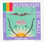 Stamps Mali -  arcos y flechas