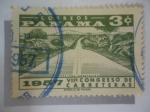 Sellos de America - Panamá -  VIIº Congreso de Carreteras.