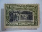 Sellos del Mundo : America : Panamá : Salto de la Chorrera - Exposición de Panamá 1915