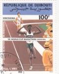 Stamps Africa - Djibouti -  marathon Hiroshima
