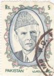 Sellos de Asia - Pakistán -  Mohammed Ali Jinnah
