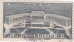 Stamps Cuba -  palacio de justicia