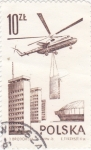Stamps : Europe : Poland :  helicoptero