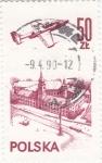 Stamps Poland -  reactor