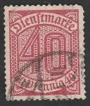 Sellos de Europa - Alemania -  Reich - 22 - Cifra