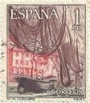 Stamps Spain -  SERIE TURÍSTICA, GRUPO II. CUDILLERO, EN ASTURIAS. EDIFIL 1648