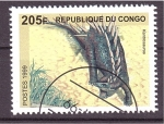 Stamps Republic of the Congo -  dinosaurios