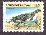 Stamps Republic of the Congo -  serie- Dinosaurios