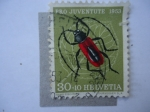 Stamps Switzerland -  Pro Juventud 1953