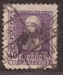 Stamps : Europe : Spain :  Isabel la Católica  1938  40 cts