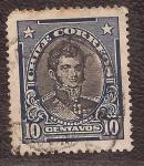 Sellos del Mundo : America : Chile : Bernardo O'Higgins 1912 10 centavos