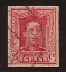 Stamps Spain -  Alfonso XIII 1923 25 cents