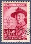 Sellos de America - Brasil -  Centenario del nacimiento de Lord Baden Powell