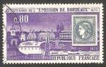Sellos de Europa - Francia -  1659 - Centº de la Emisión de Bordeaux