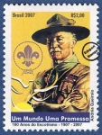 Stamps : America : Brazil :  100 años de Escultismo 1907-2007