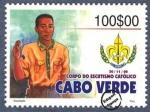 Sellos de Africa - Cabo Verde -  Asociación de Scouts de Cabo Verde