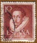 Sellos de Europa - España -   LOPE DE VEGA