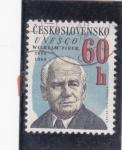 Stamps Czechoslovakia -  Wilhelm Pieck-UNESCO