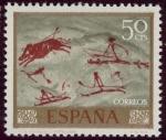 Stamps Spain -  ESPAÑA -  Arte rupestre del Arco Mediterráneo de la Península Ibérica