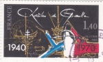 Stamps France -  Charles de Gaulle 30 aniversario