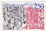 Sellos de Europa - Francia -  Montrenoit-le Saugeais