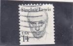 Sellos del Mundo : America : Estados_Unidos : Sinclair Lewis- escritor