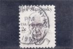 Stamps United States -  Igor Stravinsky- compositor