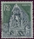 Sellos de Europa - España -  ESPAÑA - Ciudad vieja de Ávila e iglesias extra-muros