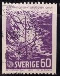 Sellos de Europa - Suecia -  Nuevo tipo numeral
