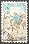 Stamps France -  1710 - Día del Sello, Cartero Rural