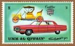 Stamps United Arab Emirates -  COL-vehiculos – CADILLAC
