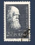 Sellos de Europa - Polonia -  Naturaleza - Charles Darwin