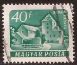Sellos de Europa - Hungría -  Simontornya 1961 40 Fillér Húngaro