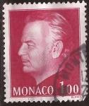 Sellos de Europa - Mónaco -  Príncipe Rainiero III 1977 1 franco