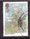 Stamps United Kingdom -  Centenario Academia de Entomologia