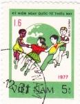 Sellos de Asia - Vietnam -  niños jugando