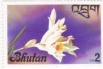 Stamps Bhutan -  flores