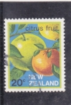 Stamps : Oceania : New_Zealand :  citricos