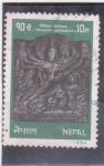 Stamps Nepal -  artesania