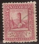 Sellos de Europa - Andorra -  Santa Coloma  1934  25 cents