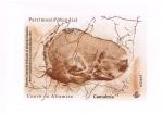 Stamps of the world : Spain :  Boceto original previo a la emisión  2015  Cueva de Altamira  Cantabria.