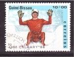 Sellos de Africa - Guinea Bissau -  Calgary' 88
