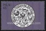 Stamps Oceania - Palau -  Amistad EE.UU