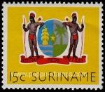 Sellos del Mundo : America : Surinam : Escudo de armas