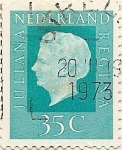 Stamps Netherlands -  Juliana regina