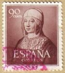 sellos de Europa - España -  V Centenario Nacimiento Isabel la Catolica