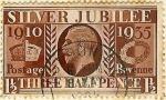 Stamps United Kingdom -  Jorge V