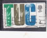 Stamps : Europe : United_Kingdom :  centenario TUC